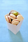 Macaroons with fig jam