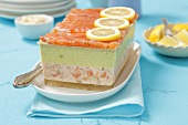 Salmon-avocado terrine