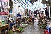 A market in Hanoi, Vietnam