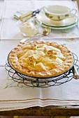 A whole apple pie