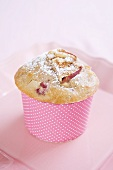 A berry muffin