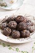 Chocolate fudge browines