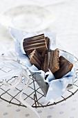 Jaffa fudge slices from England