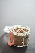 A jar of liver pate