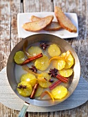 Spiced orange ragout
