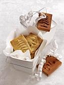Spekulatius (German Christmas shortcrust biscuits) and moulds