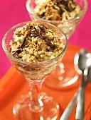 Tiramisu (Italian layered dessert with mascarpone cream)