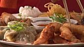 Asian appetiser platter