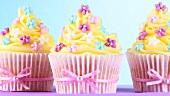 Verzierte Cupcakes