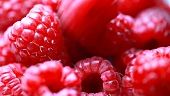 Fresh raspberries (full-frame)