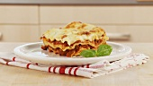 Lasagne on a plate (German Voice Over)