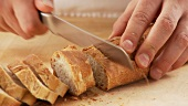 Slicing baguette