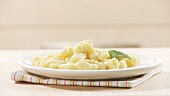 Gnocchi with sage leaves