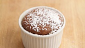 Chocolate souffle being prepared (English Voice Over)