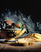 Sugar Bread and Fruit Still Life