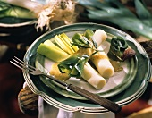 Leek Salad with Dijon Dressing