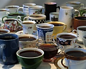 Several Coffee Cups