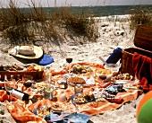 Picnic Feast on the Beach