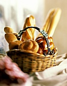 Bread Basket with Iron Handle