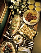 A Buffet of New Year's Appetizers