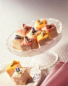 Petit Fours in a Candy Dish