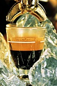 Extracting Espresso into Glass
