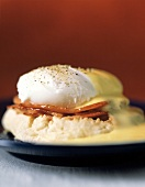 Eggs Benedict Close Up