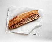 Raw Pork Loin with Ribs