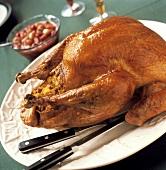 Whole Roasted and Stuffed Turkey