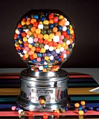 Gumballs in a Gumball Machine