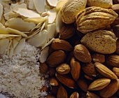 Almonds; Whole and Shelled; Flaked and Ground