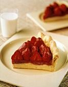 A Slice of a Strawberry Tart