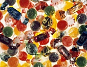 Assorted Colorful Wrapped Candy