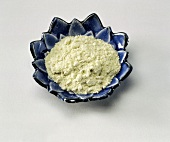 Wasabi Powder on a Dish
