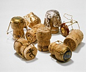 Still Life of Champagne Corks