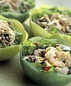 Shrimp Salad in Small Bowls