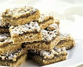 Prune Bars on a Plate