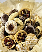Assorted Cookies in Tissue Paper
