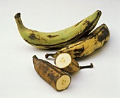 Still Life of Plantains; One Cut in Half