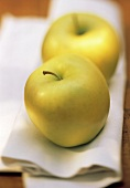 Two Golden Delicious Apples