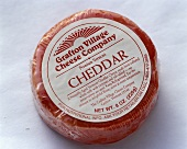 Packaged Round Cheddar Cheese
