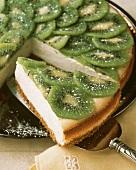 Cheesecake with Kiwi