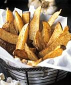 Steak Fries in a Wire basket