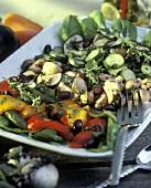 A Platter of Roasted Vegetables