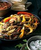Beef and Pepper Fajita Fillings