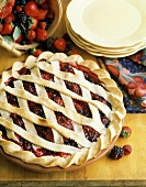 Whole Four Berry Pie