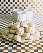 Mocha Meringue Cookies