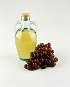 Olive Oil and Fresh Grapes