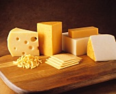 Several Assorted Types of Cheese
