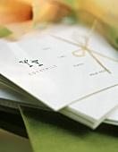 Einladungskarten zu einer Cocktailparty